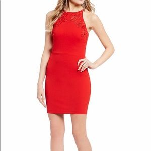 Red homecoming dress!